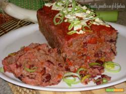 Plumcake di carne dai sapori messicani
