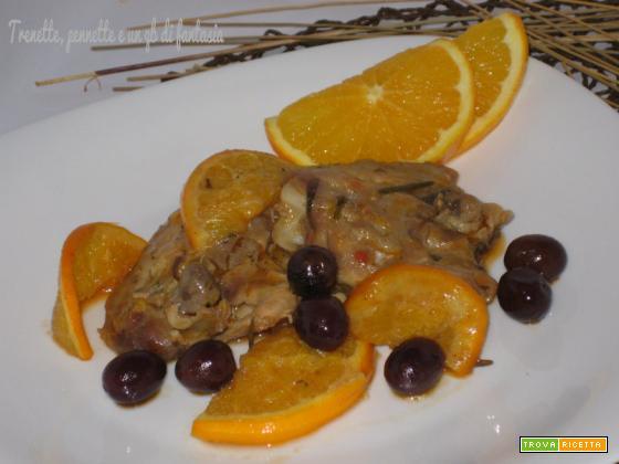 Pollo piccante e spezziato agli agrumi
