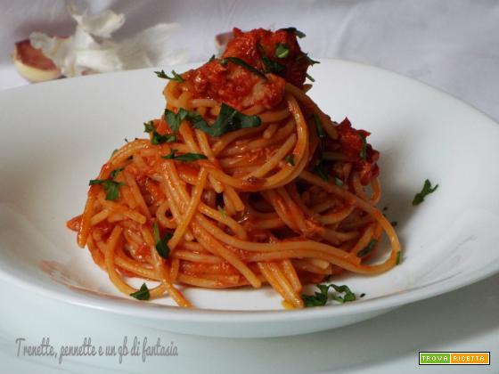 Spaghetti col tonno