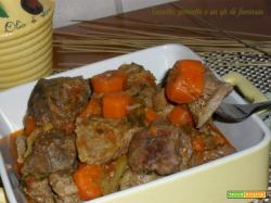 Spezzatino con sedano e carote