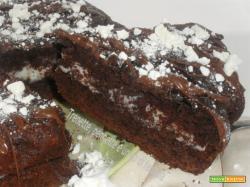 Torta al cacao con crema di latte
