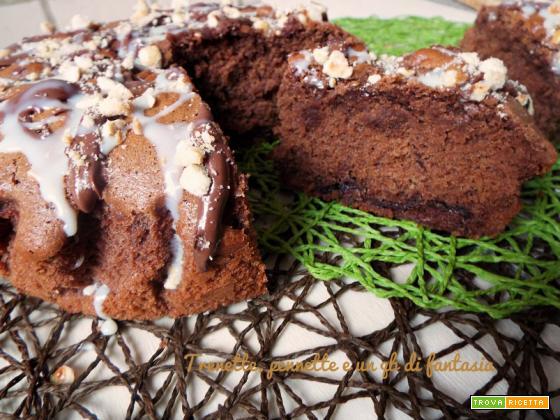 Torta golosa cioccolato e nutella