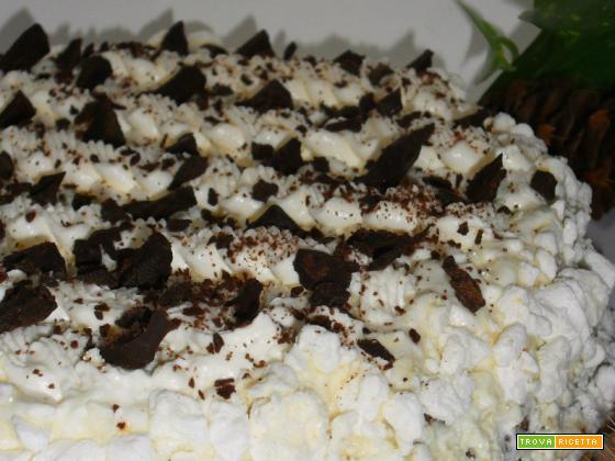 Torta Montblanc al Tiramisù
