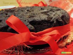 Torta nerina pere e cioccolato