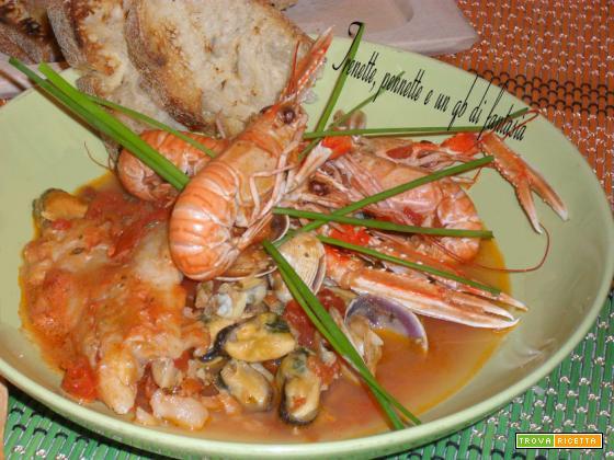 Zuppa di pesce veloce