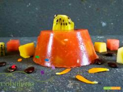 Aspic di polpa di Cocomero e Frutta