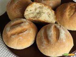 Panini con crusca, germe di grano e lievito madre