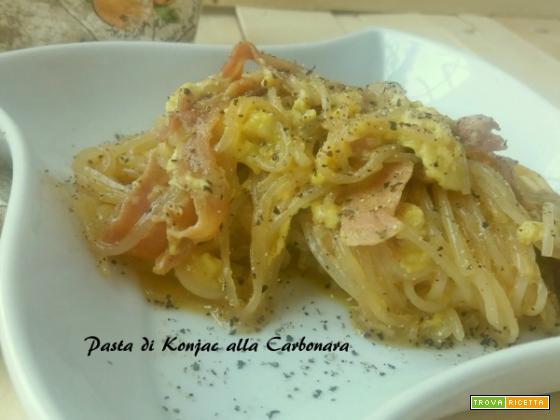 Pasta di Konjac alla Carbonara light