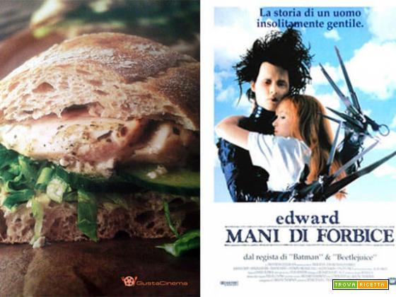 Panino con pollo in salsa tzatziki ricetta e film