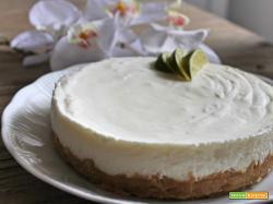Cheesecake lime e rum
