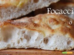 Focaccia o Fugassa, ricetta con lievito madre