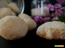 Biscotti cocco e limone - Ricetta senza glutine