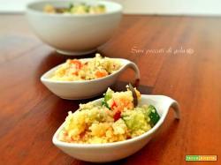 cous cous saltato e aromatizzato con verdure