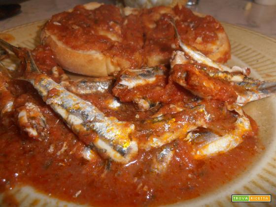 Bagnun ligure(zuppa di acciughe)