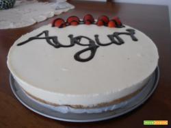 Cheesecake alla vaniglia con ricotta e philadelphia
