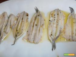 filetti di alici al limone