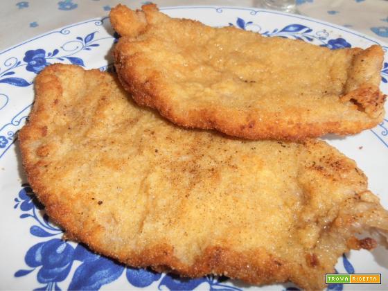 impanatura dorata croccante (per cotoletta )