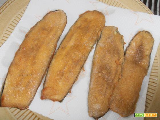melanzane impanate fritte