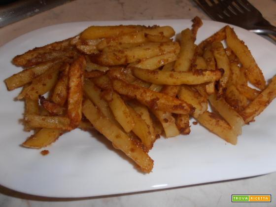 Patate al forno alla paprika