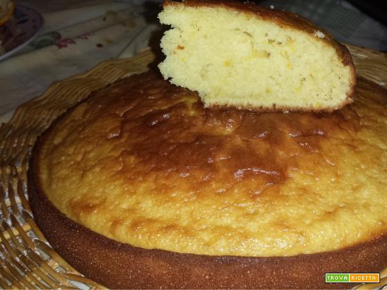 Torta all'arancia e cannella