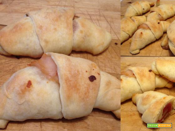 Cornetti di pane salati morbissimi