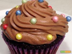 Cupcakes fondenti con Nutella