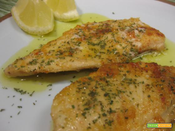 recipe: scaloppine di pollo al limone [36]