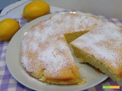 Torta al limone morbidissima