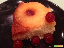 Torta ananas e caramello