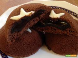 Tortina tipo Mooncake con cuore morbido