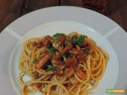 Spaghetti misto mare