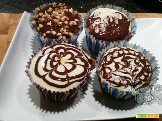 Cup cake vaniglia e cioccolato