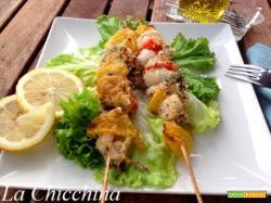 Spiedini freddi con wurstel ricetta for Spiedini di pesce gratinati