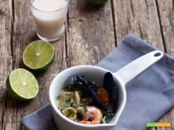 Frutti di mare al latte di cocco