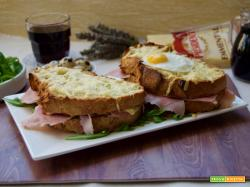 French toast: il croque madame e il croque monsieur!