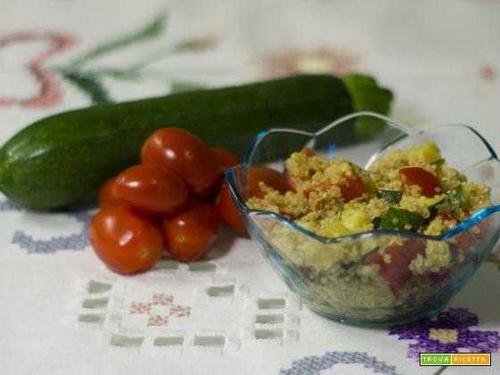 Insalata di quinoa con verdure – ricetta senza glutine