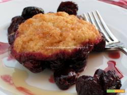Cherry grunt, ovvero Tortine soffici alle ciliegie... in padella!