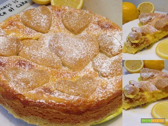 Limonotta   Crostata al limone