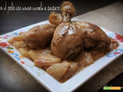 Fusi di pollo con ananas cannella e zenzero