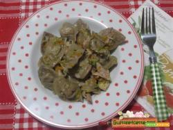 Cappelletti alle more pollo e zucchine
