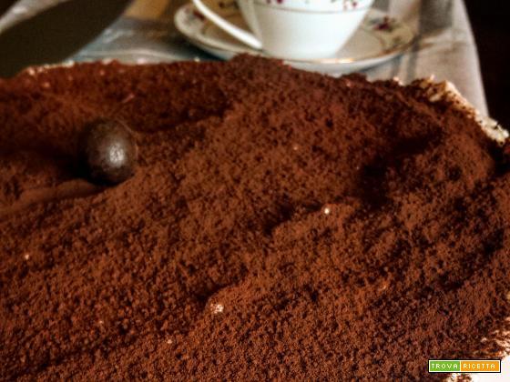 Torta fredda al caffè (senza gelatina).