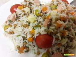 Ricetta Insalata di riso basmati e lenticchie
