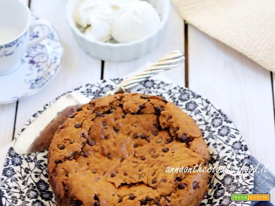 Torta cookie con Nocciolata e gelato : facciamo le valigie