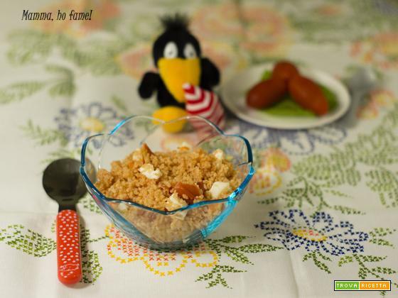 Cous Cous caprese – ricetta per bambini