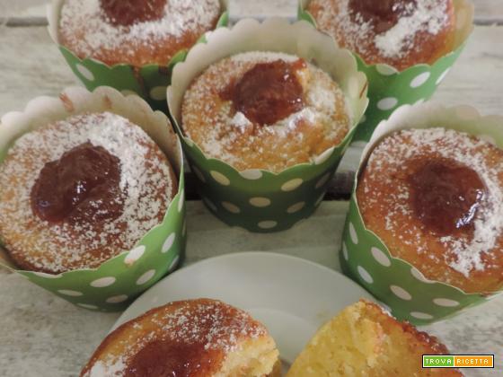 Muffin con marmellata di fichi