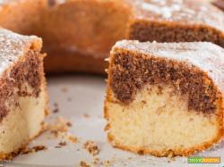 Torta bicolore, ideale per la colazione