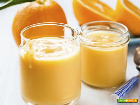 Crema all' arancia o orange curd, una delizia