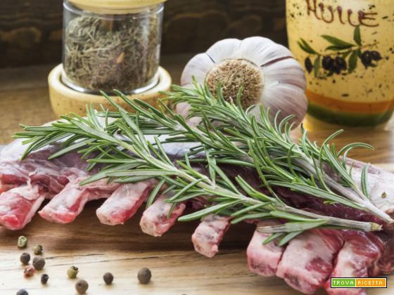Carne marinata per griglia o grill