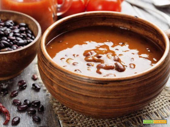 Passato di fagioli rossi, fonte di qualità e ottimi nutrienti