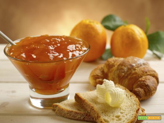 Crostata di quinoa e marmellata di arance